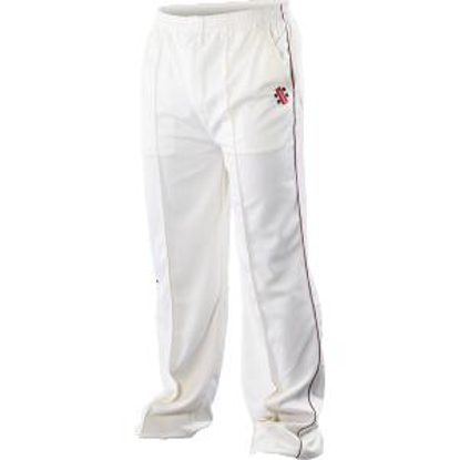 Picture of GN Trouser SUPER Ivory Navy Trim
