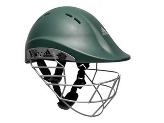 Picture of adiPower Premiertek Helmet - Green - Steel Visor