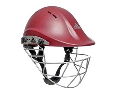 Picture of adiPower Premiertek Helmet - Maroon - Steel Visor