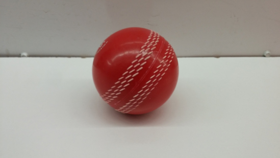 Picture of Red Synthetic Hard Cricket Ball