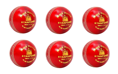 Image de SF Cricket Ball Match Special Red - Box of 6