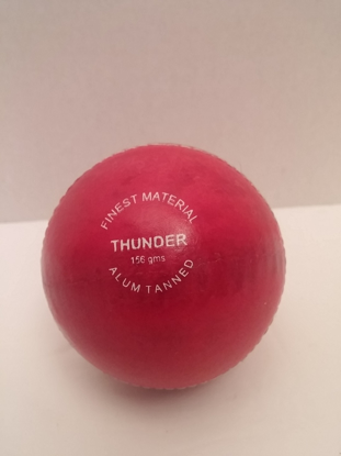 Picture of SAS Cricket Ball Thunder Red