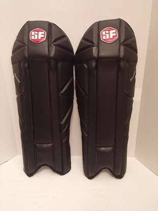 Image de SF Wicket Keeping Leg-guard Ranjilite - Black