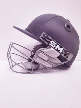 Picture of SM Cricket Helmet COLLIDE - Black