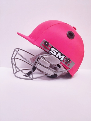 Image de SM Cricket Helmet COLLIDE - RED