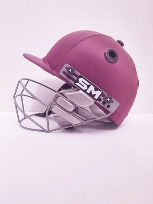 Picture of SM Cricket Helmet COLLIDE - MAROON