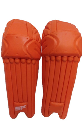 Image de SF Batting Legguard Ranji (ambi) ORANGE - Dual Wing