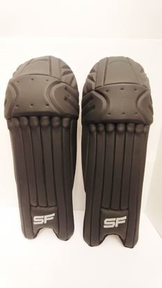 Picture of SF Batting Legguard Ranji (ambi) BLACK - Dual Wing