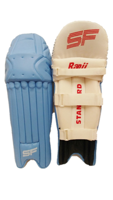 Image de SF Batting Legguard Ranji (ambi) SKY/LIGHT BLUE - Dual Wing