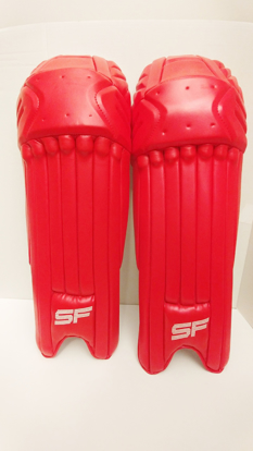 Image de SF Batting Legguard Ranji (ambi) RED - Dual Wing
