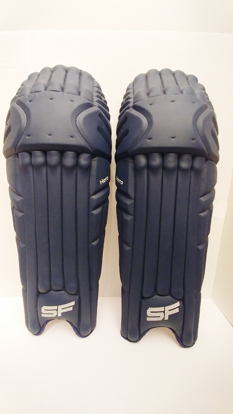 Picture of SF Batting Legguard Hero (ambi) NAVY BLUE - Dual Wing