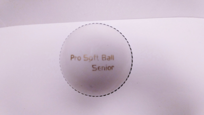 Image de Incredi Cricket Ball White