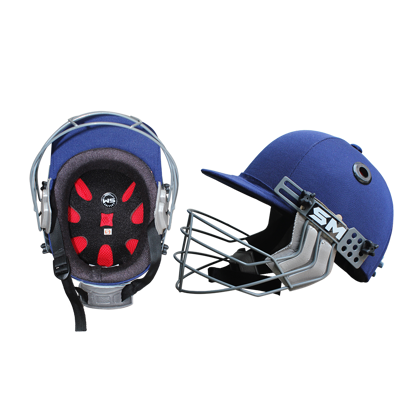 Image de SM Cricket Helmet COLLIDE - Navy Blue
