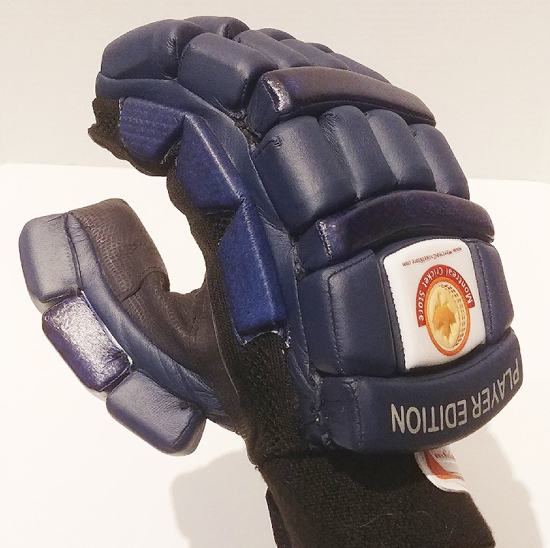 Picture of WKT Batting Gloves Player Edition NAVY BLUE MRH