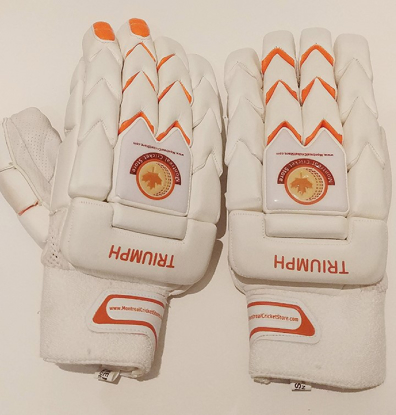 Picture of WKT Batting Gloves Triumph White