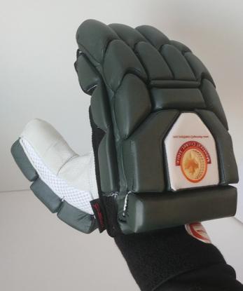 Image de WKT Batting Gloves Triumph Dark Green - RH Only