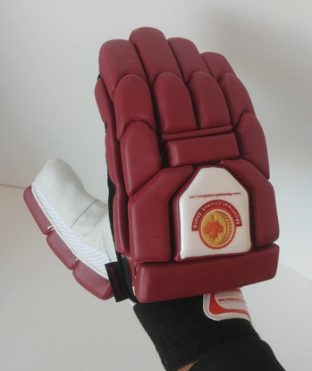 Image de WKT Batting Gloves Triumph Maroon - RH Only