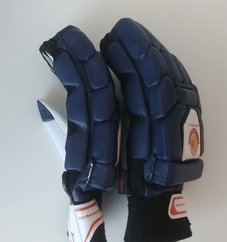 Picture of WKT Batting Gloves Triumph Navy Blue - RH Only