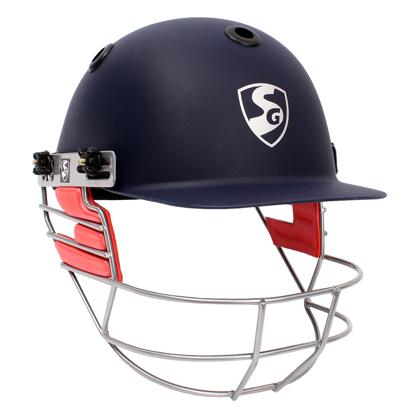 Picture of SG Cricket Helmet OPTIPRO - Navy